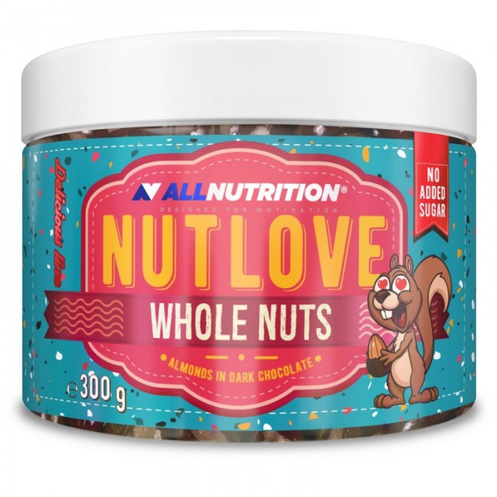 Allnutrition NutLove Whole Nuts - Almonds - Диетични Ядки