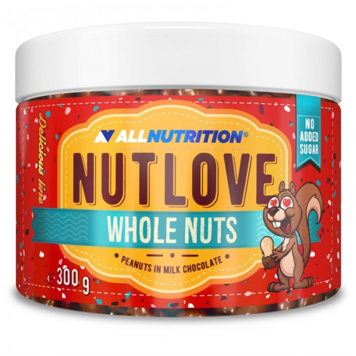 Allnutrition NutLove Whole Nuts - Peanuts - Диетични Ядки