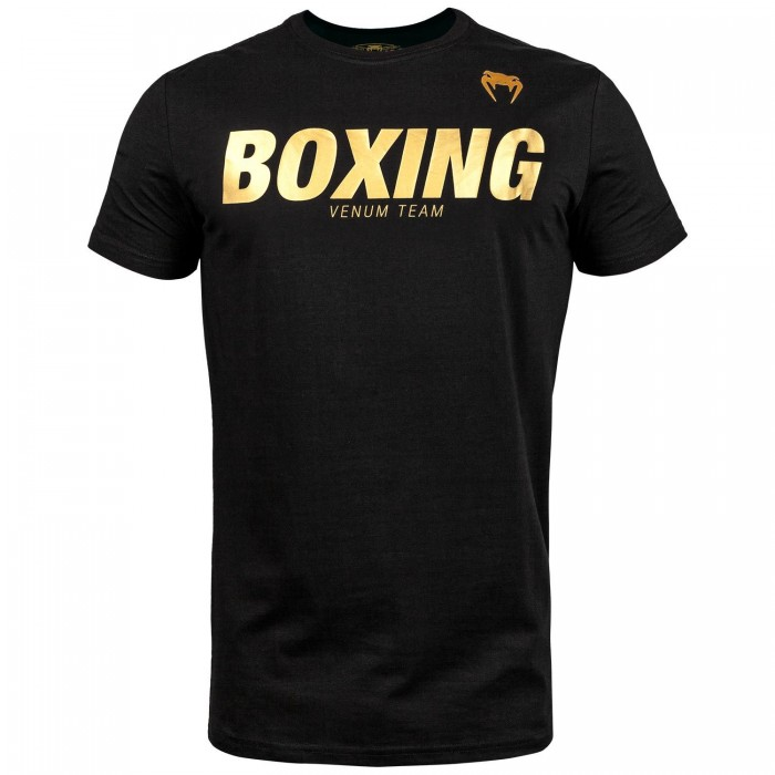 Тениска - Venum Boxing VT T-shirt - Black/Gold​
