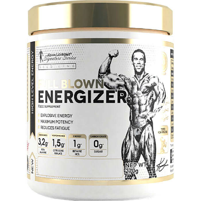 Kevin Levrone Gold Line / Full Blown Energizer Pre-Workout / 30дози