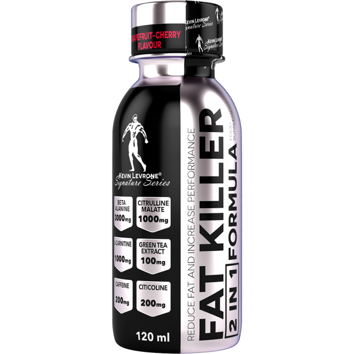 Kevin Levrone Fat Killer 2 in 1 Shot / Thermogenic Pre-Workout / 24 x 120 мл