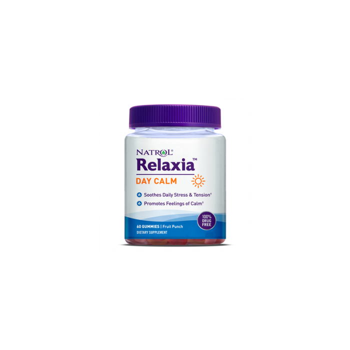 Natrol Relaxia Day Calm / 60 желирани таблетки
