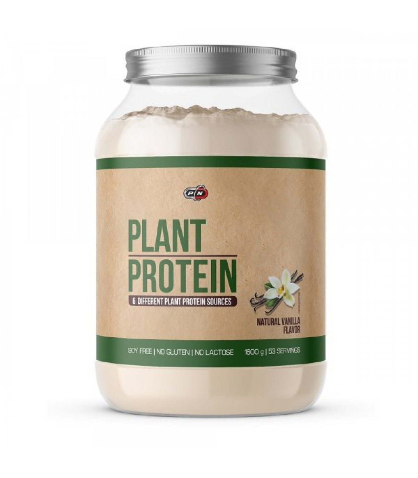 PURE NUTRITION - PLANT PROTEIN / 1600g