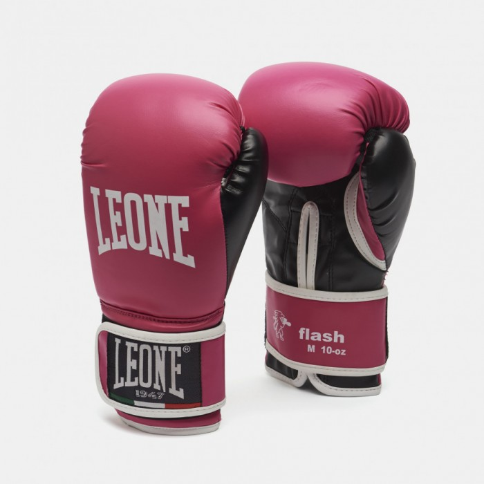 Leone - Flash Boxing Gloves GN083 / Fuxia - Pink