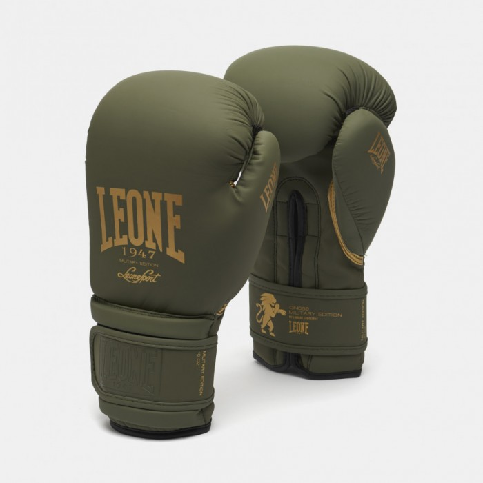 Leone - MILITARY EDITION BOXING GLOVES GN059G / Green