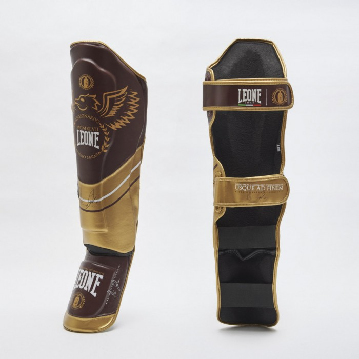 Leone - LEGIONARIVS SHINGUARDS PT152 / Red/Gold
