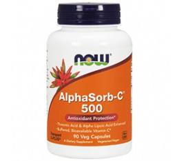 NOW - AlphaSorb-C™ 500 mg. / 90 Tabs.