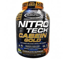 MuscleTech - Performance Series Nitro Tech Casein Gold / 2270 gr.