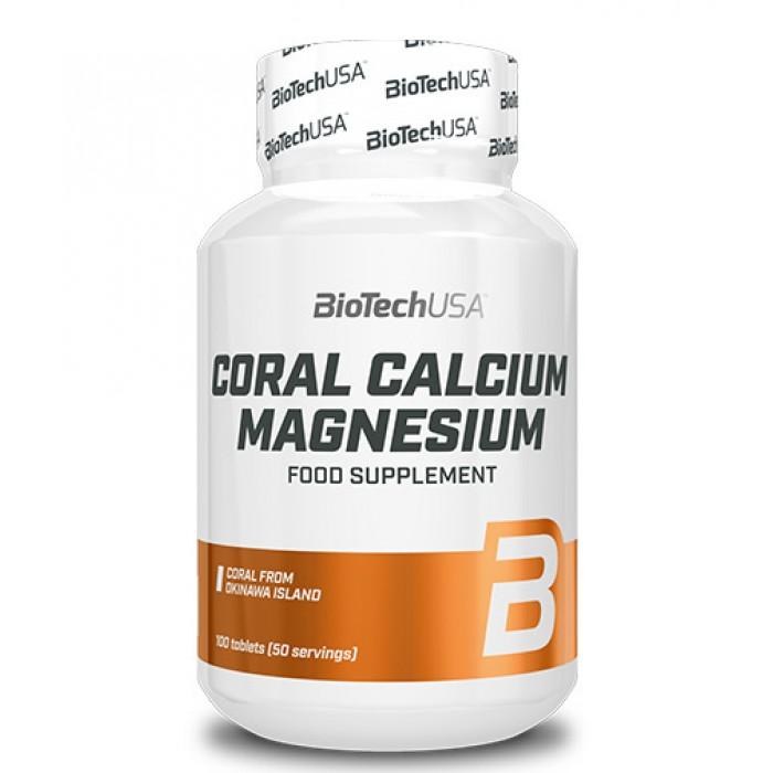 Biotech - Coral Calcium Magnesium 100 Tabs.