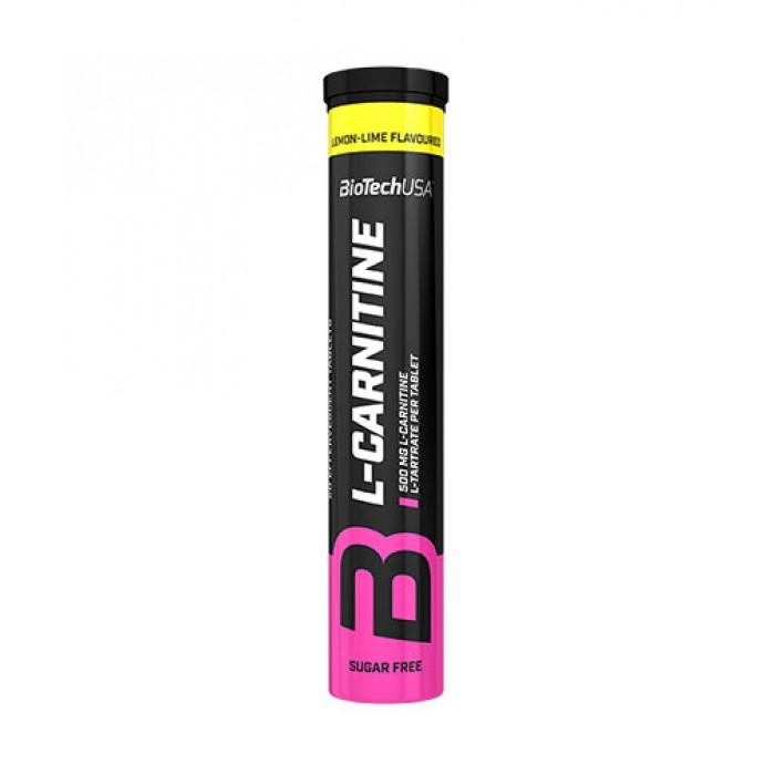 BioTech - Effervescent L-Carnitine 500mg / 20 tabs.