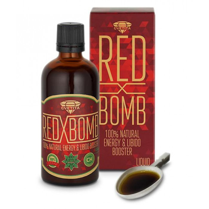 CVETITA HERBAL - Red X Bomb / 100ml.