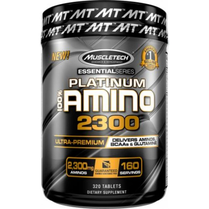 MuscleTech - Platinum 100% Amino 2300 / 320tabs.