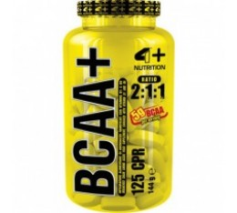 4+ Nutrition BCAA+ 125 табл. Разклонена верига (BCAA)