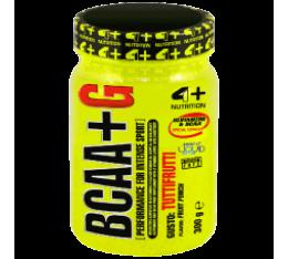 4+ Nutrition BCAA+ G 300 гр. Разклонена верига (BCAA)
