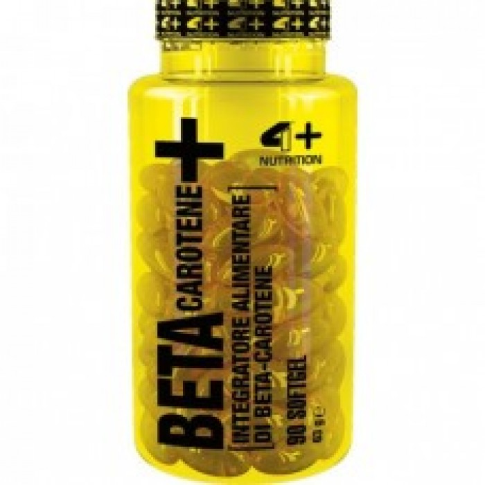 4+ Nutrition BETA CAROTENE+ 90 гела
