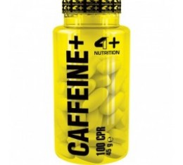4+ Nutrition CAFFEINE+ 100 табл. Здраве и тонус