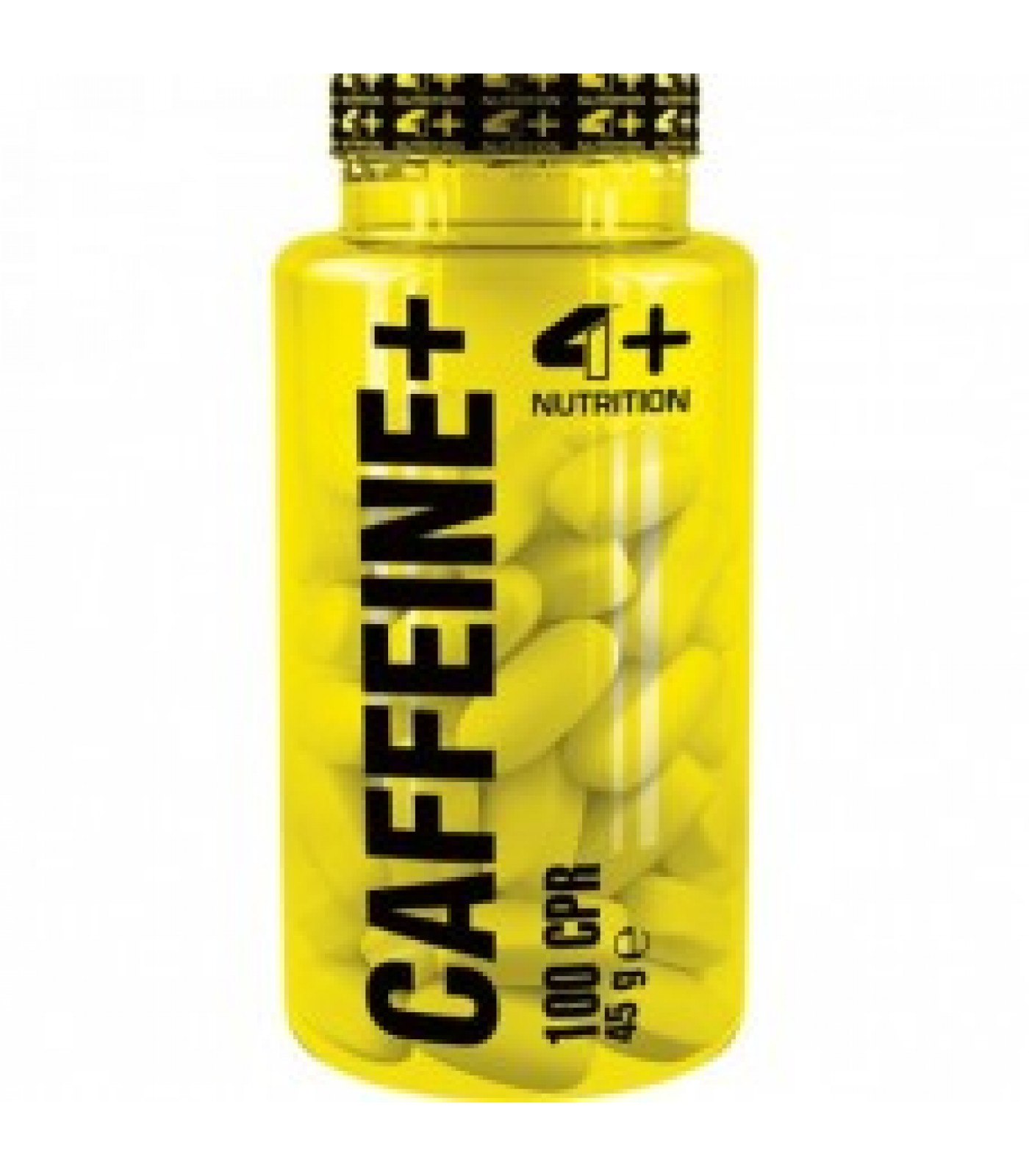 4+ Nutrition CAFFEINE+ 100 табл.
