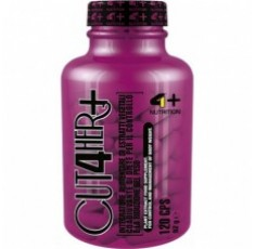 4+ Nutrition CUT 4 HER+ 120 капсули​