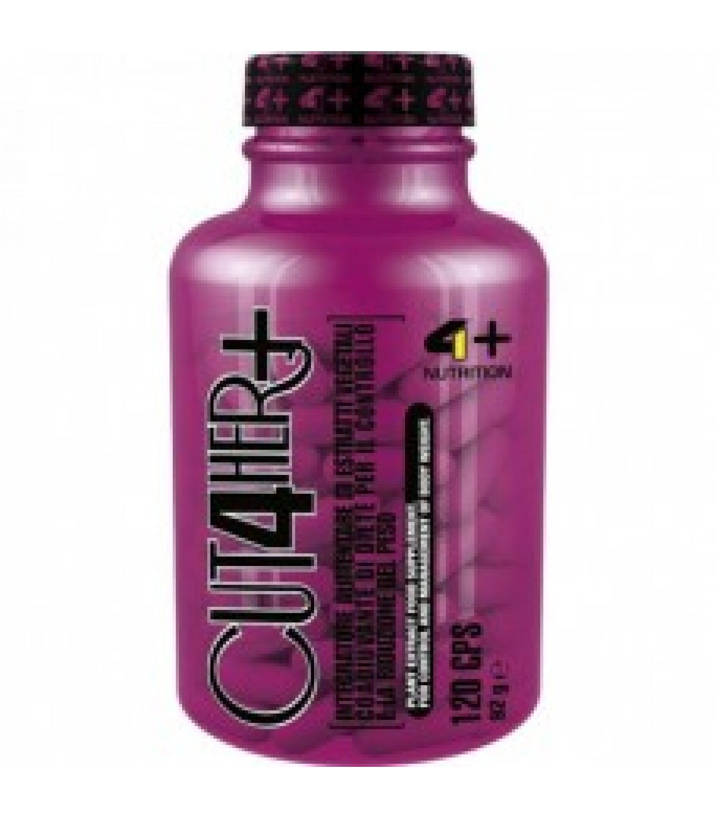 4+ Nutrition CUT 4 HER+ 120 капсули