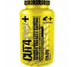 4+ Nutrition CUT 4 HIM+ 120 капсули​