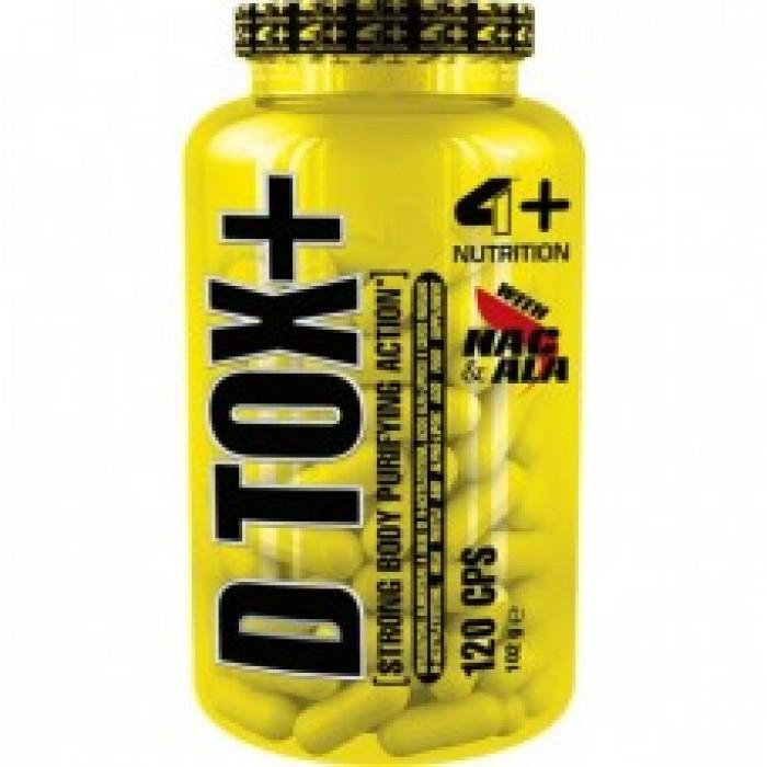 4+ Nutrition D TOX+ 120 табл.