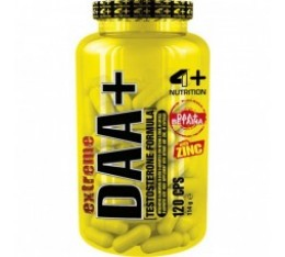 4+ Nutrition DAA+ 120 табл. Здраве и тонус