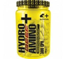4+ Nutrition HYDRO BEEF AMINO+ 300 табл. Протеинови барове и храни
