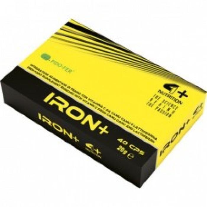 4+ Nutrition Iron+ 40 табл.