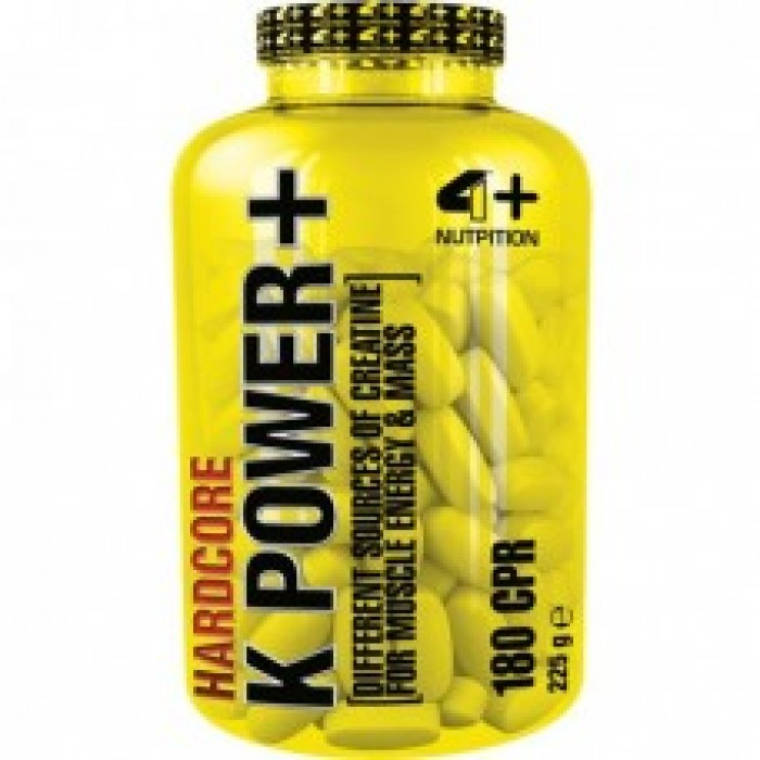 4+ Nutrition K POWER+ 180 табл.