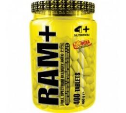 4+ Nutrition RAM+ 400 табл. Разклонена верига (BCAA)