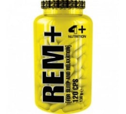 4+ Nutrition REM+ 120 капсули Здраве и тонус