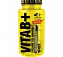 4+ Nutrition VITA B+ 90 гела Витамини, минерали и др.