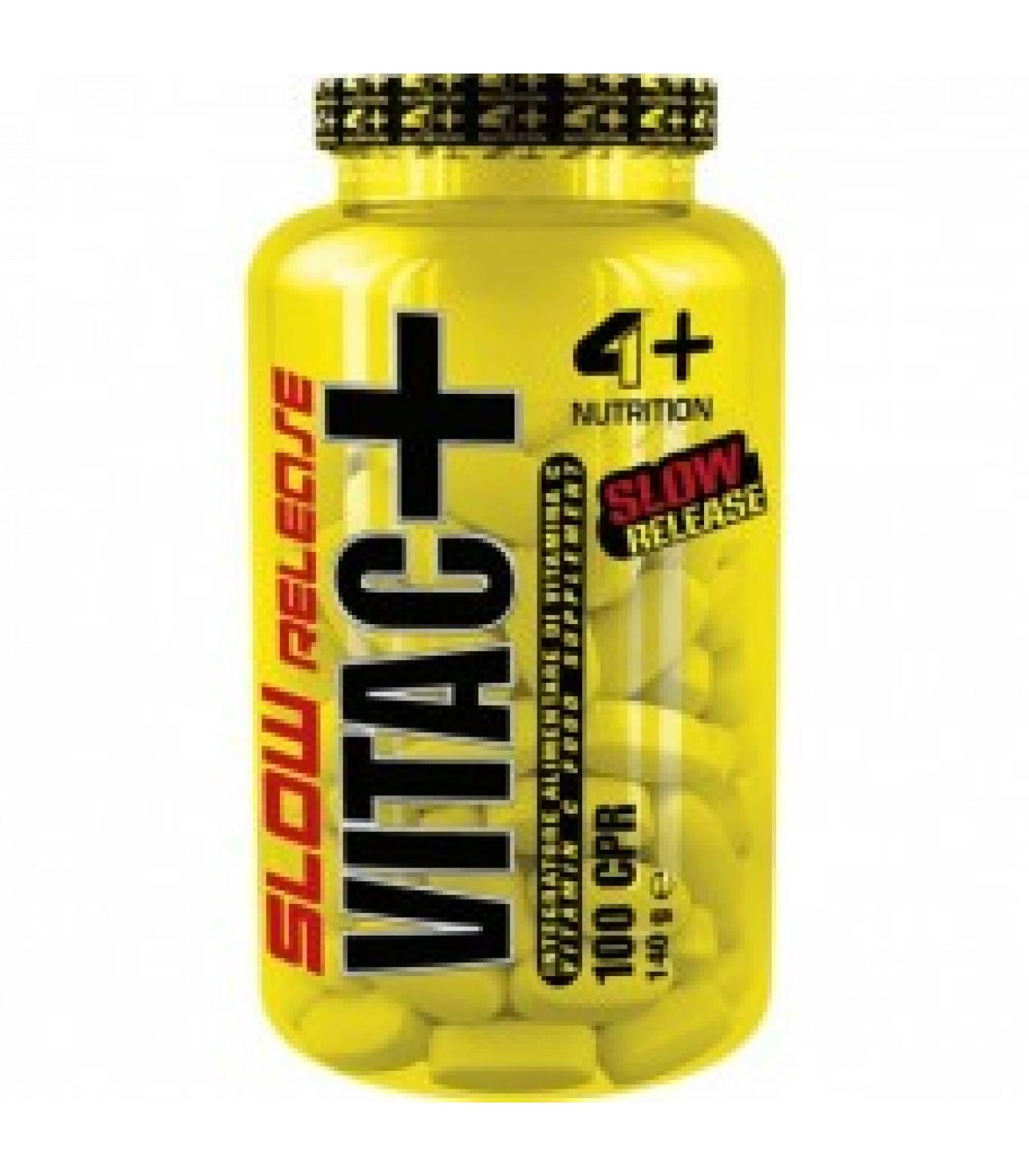 4+ Nutrition VITA C+ Slow Release / 100 таблетки