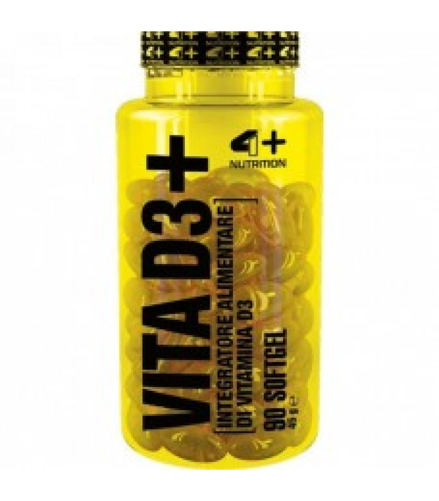 4+ Nutrition VITA D3+ 90 гела