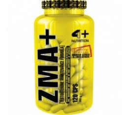4+ Nutrition ZMA+ 120 табл. Здраве и тонус