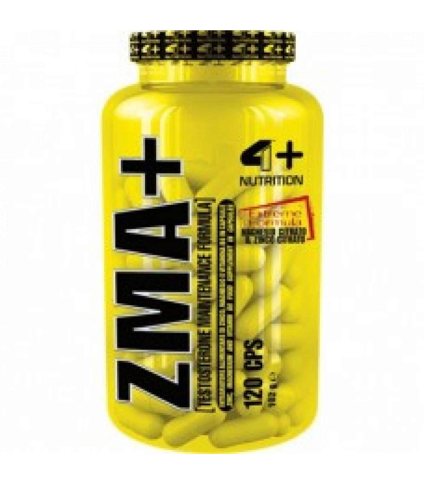 4+ Nutrition ZMA+ 120 табл.