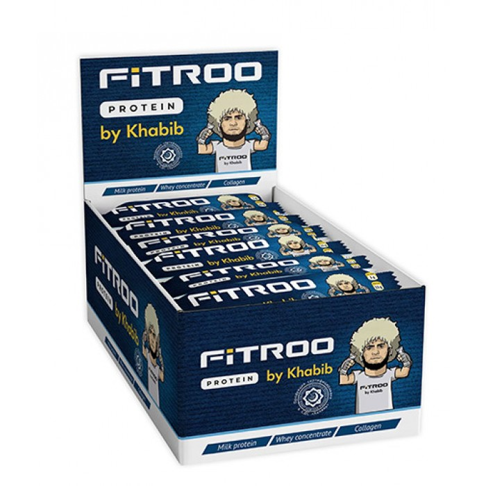 FITROO by Khabib Glazed bar Protein Premium Box / 20 x 50 g