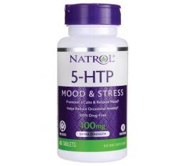 Natrol - 5-HTP 100mg - Time Release / 45 tabs Хранителни добавки, Здраве и тонус