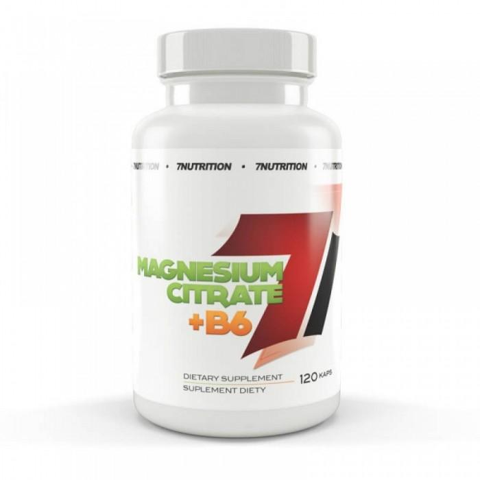 7Nutrition - Magnesium Citrate+B6 / 120caps