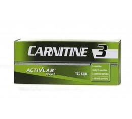 ActivLab - Carnitine 3 / 120caps. Хранителни добавки, Отслабване, Л-Карнитин
