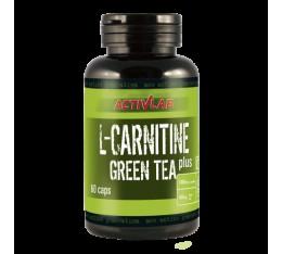 ActivLab - L-Carnitine Green Tea Plus / 60caps. Хранителни добавки, Отслабване, Л-Карнитин