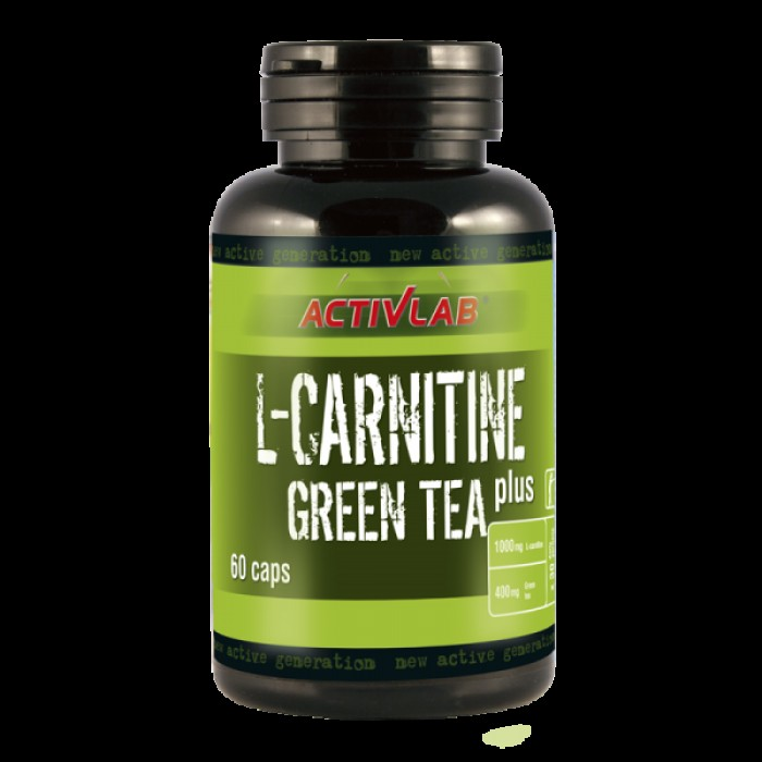 ActivLab - L-Carnitine Green Tea Plus / 60 капсули