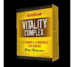 ActivLab - Vitality Complex / 60caps. Хранителни добавки, Витамини, минерали и др., Здраве и тонус, Мултивитамини, Формули за жени
