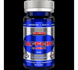 AllMax - Caffeine / 100tabs. Хранителни добавки, Отслабване, Кофеин, 150, ПОДАРЪЦИ