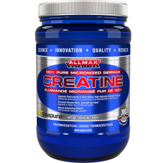 AllMax - Creatine Creapure / 400gr. Хранителни добавки, Креатинови продукти, Креатин Монохидрат, Хранителни добавки на промоция