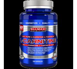 AllMax - L-Carnitine / 120 caps. Хранителни добавки, Отслабване, Л-Карнитин, Хранителни добавки на промоция
