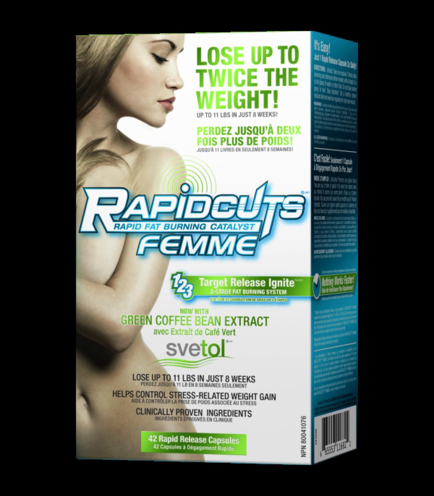 AllMax - RapidCuts Femme / 42caps.