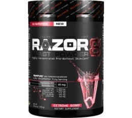 AllMax - Razor 8 Blast Powder / 570 gr. Хранителни добавки, Азотни/напомпващи