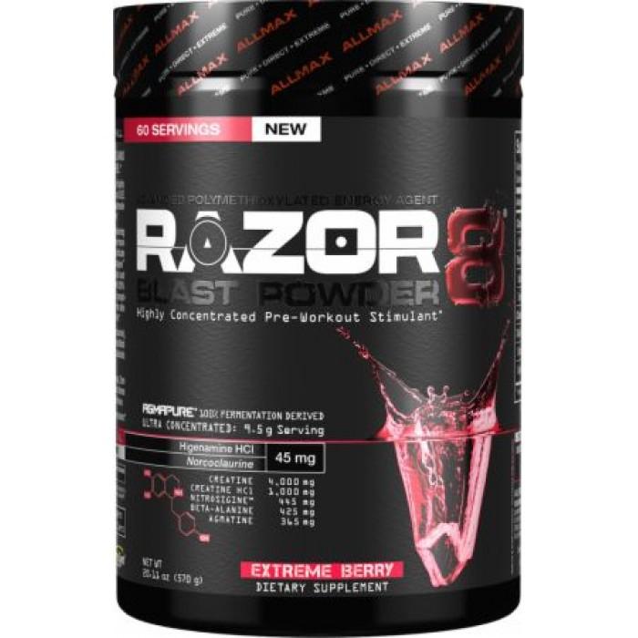 AllMax - Razor 8 Blast Powder / 570 gr.