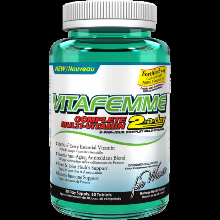AllMax - VitaFemme 2-a-day / 60 tab